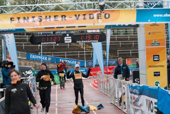 Carolin Gläser mit Streckenrekord auf der Halbmarathon-Distanz