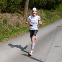 Nicole Kruhme läuft neuen Streckenrekord
