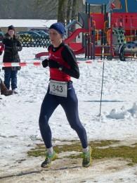 Gesamtsiegerin Katja Konschak beim diesjährigen Possenlauf in Sondershausen