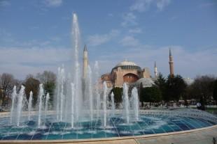 Hagia Sophia in der Sonne am Tag danach