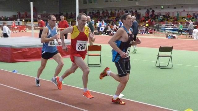Lange Zeit lag Jürgen Tuch (880) auf Medaillenkurs