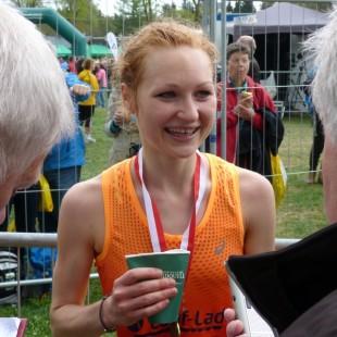 Nora Kusterer gewann in Leipzig den Halbmarathon in starken 1:19:38 h. Wer wird das Rennen machen?