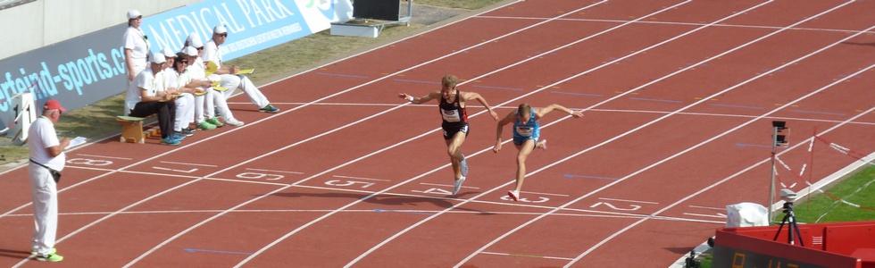 DM in Erfurt: Wimpernschlagfinale über 3000 Meter Hindernis