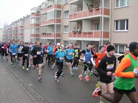 Start des Greizer Straßenlaufes