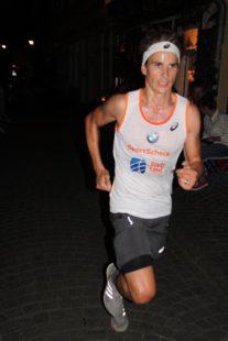 Philipp Heinz führte lange auf der Halbmarathon-Distanz und wurde am Ende 2.