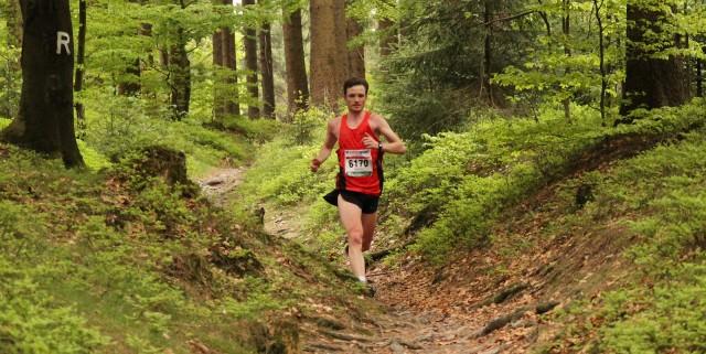 Marcel Krieghoff auf dem Weg zu seinem ersten Marathonsieg