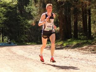 Gute Rennteilung: Christoph Weigel schaffte es erneut aufs Treppchen
