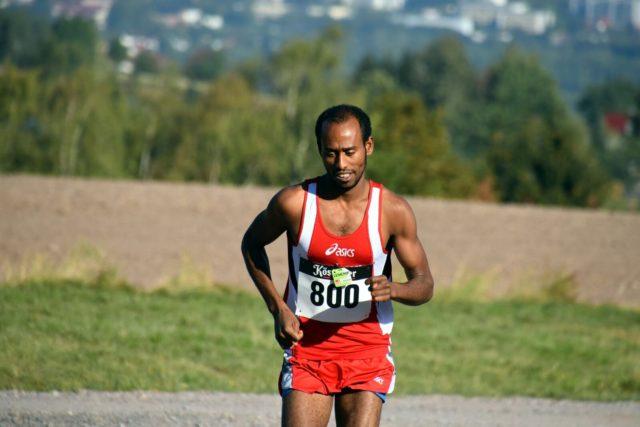 Sieger  mit Streckenrekord: Samsom Tesfazghi Hayalu