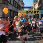 Startschuss für den Marathonlauf