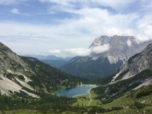 Wunderbares Panorama mit Seebensee