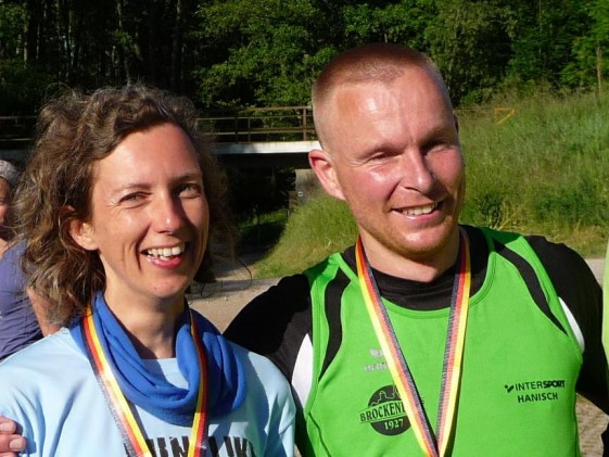 Der Sieger Daniel Knauer und Susanne Aust