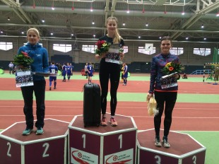 Die drei Erstplatzierten bei den Frauen über 10 Kilometer waren Dörte Nadler, Anne Kristin Fischer und Karolin Robe (v.l.n.r.).