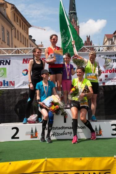 Die schnellsten Frauen auf den Halbmarathon