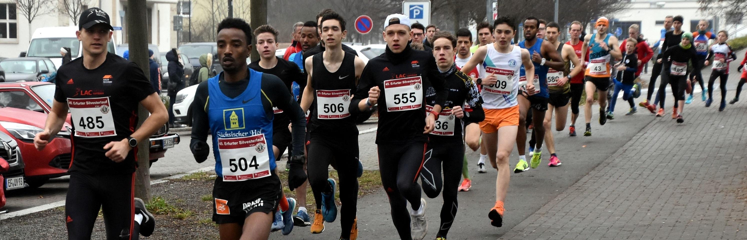 45. Erfurter Silvesterlauf: Zum Jubiläum einen Rekord
