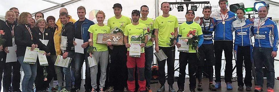 20. Rennsteig-Staffellauf: Schnelle Siegerzeiten im Jubiläumsjahr