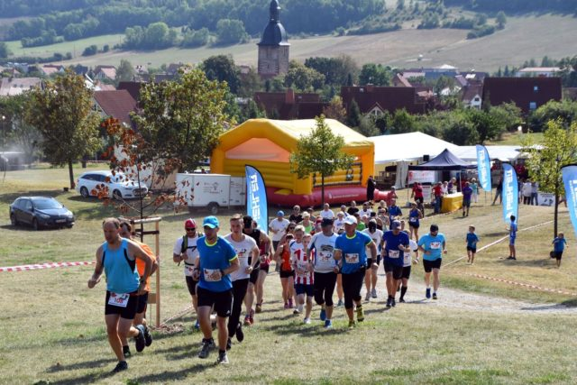 Start in Holzhausen