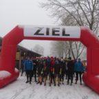 Heiligabendlauf: Schnee als Läuferbescherung