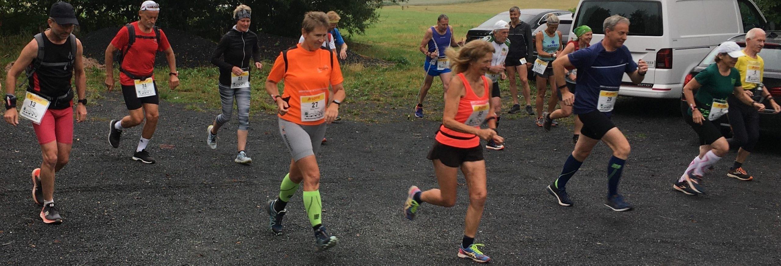 48. Rennsteig-Etappenlauf: Sandra Bunk und Steffen Weber schnellste Aktive