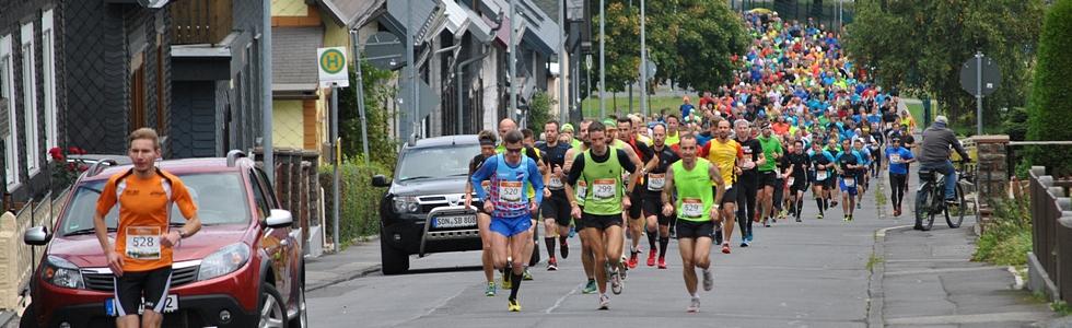 26.Rennsteig-Herbstlauf: Teilnahmerekord – Panse und Brückner vorn