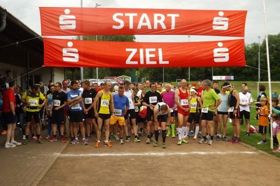 Start zum 13-Kilometer-Lauf