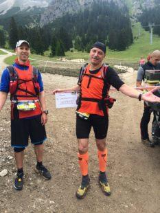 Nichts geht mehr - Endstation für die Thüringer Tino Hagemann und Jens Panse bei km 35