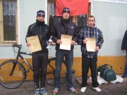 Die Sieger Tom Eismann, Tobias Henkel und Christian Marquardt