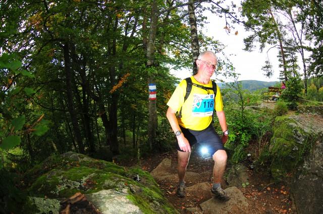 Günther Pohl beim Wörthersee-Trail