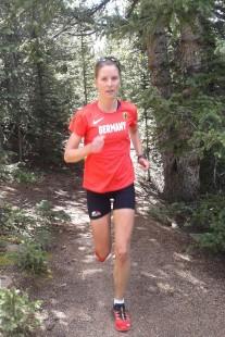 Vergangenes Jahr nahm Stefanie an der Berglauf-WM Langdistanz in Manitou Springs (USA) teil