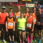 Das erfolgreiche USV-Laufteam in Wickerstedt.