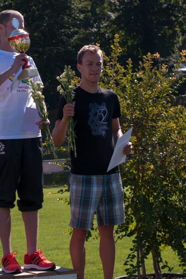 Willi Paufler belegt den dritten Platz beim Halbmarathon