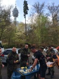 Verpflegungsstelle der Bundeswehr am Fernsehturm