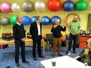 Marian Koppe (FSV Thuringia), Jens Panse (USV Erfurt), Klaus-M. von Keussler (LTV Erfurt) und Torsten Hass (SV Nord Erfurt) wollen weiter zusammenarbeiten