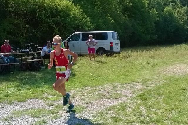 Sieger über 16 km: Philipp Häßner