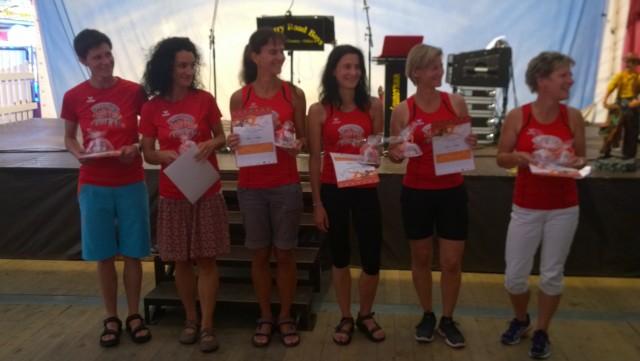 Die 7 flotten Holzlandlotten entschieden die Frauenwertung für sich