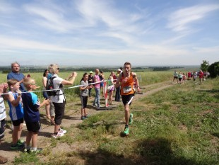 Der Zweitplatzierte des diesjährigen Kirschlaufes Adrian Panse vom USV Erfurt ist einer der Favoriten auf den Sieg beim 1. Erfurter Campuslauf.