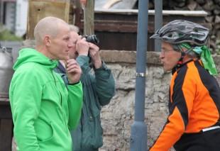 Im Ziel hatte der Rennsteiglaufverein mit Stefan Neidhardt und Jürgen Lange die Nasen vorn.