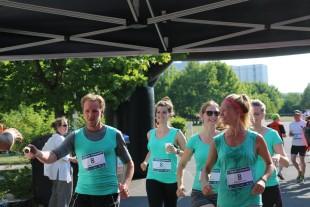 Bei Staffelläufen - wie hier beim Campuslauf in Erfurt - sollen nur für den letzten Läufer 50 Cent fällig werden. Läufe, bei denen die gesamte Startgebühr für wohltätige Zwecke gespendet wird, sind von der Gebühr befreit.