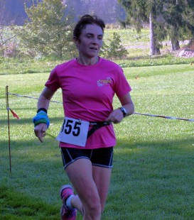 Gabi Thiele, Siegerin über 16 km