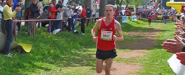 Christian Seiler beim Rennsteig-Marathon 2008