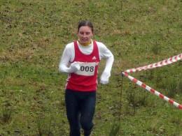 Astrid Hartenstein wurde Neunte der Frauenkonkurrenz