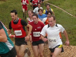 Martin Wallebohr (2243) lief auf Platz neun bei den Männern