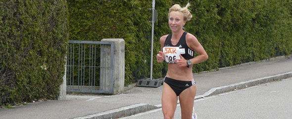 Melanie Schulz - Deutsche Meisterin im Halbmarathon 2009