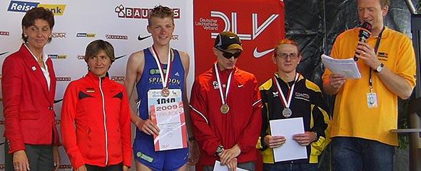 Siegerehrung DM Marathon 2009