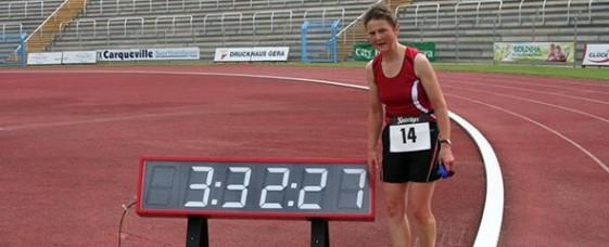Simone Hänse gewann zum Dritten Mal - diesmal in 3:32:27