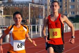 Die Sieger Kristin Hempel und Tobias Henkel