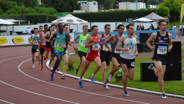 """In Heusden (Belgien) zur """"Nacht van de Atletiek"""" lief Philipp Reinhardt (96) mit 3:45,64 Minuten neue Bestzeit über 1500 Meter"""