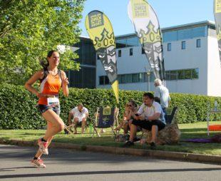 Die Erfurter Studentin Madeleine Müller lief für das USV-Team.