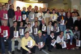 Die Sieger und Platzierten des Thüringer Klassikercups 2009