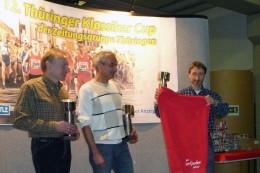Siegerehrung Mannschaftswertung Thüringer Klassikercup 2009
