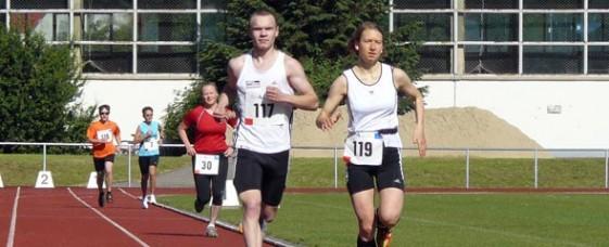 Juliane Totzke (119) gewann die 3000 Meter der WJA, David Rüdiger (117) siegte über 5000 Meter der MJA